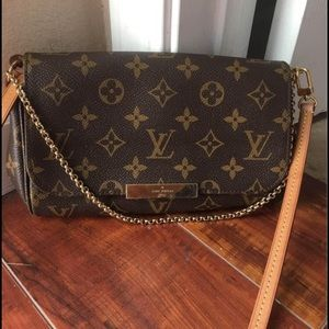 Authentic Lv crossbody Pm size